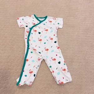 Baby Soy Flamingo Romper